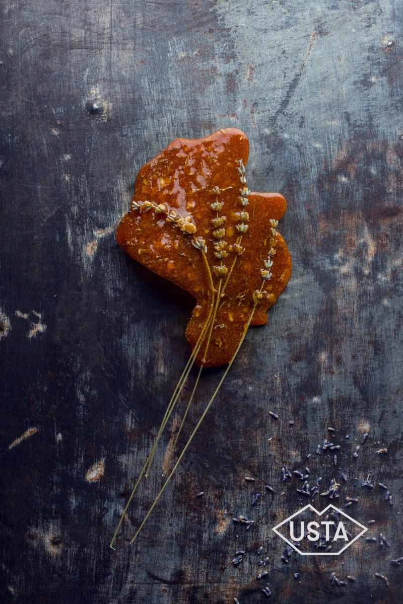 Lawendowe karmelki