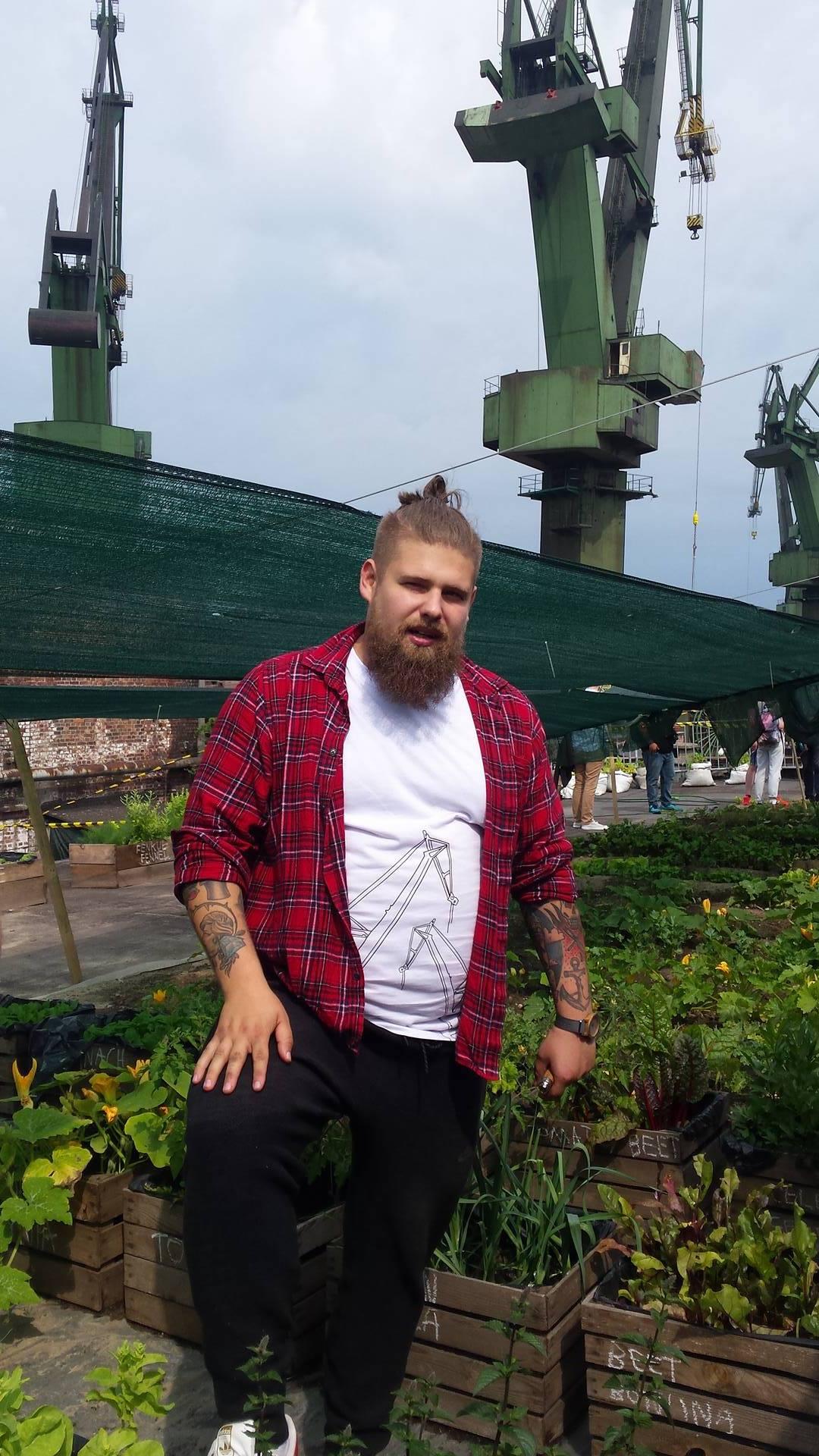 Urban farm in the shipyard