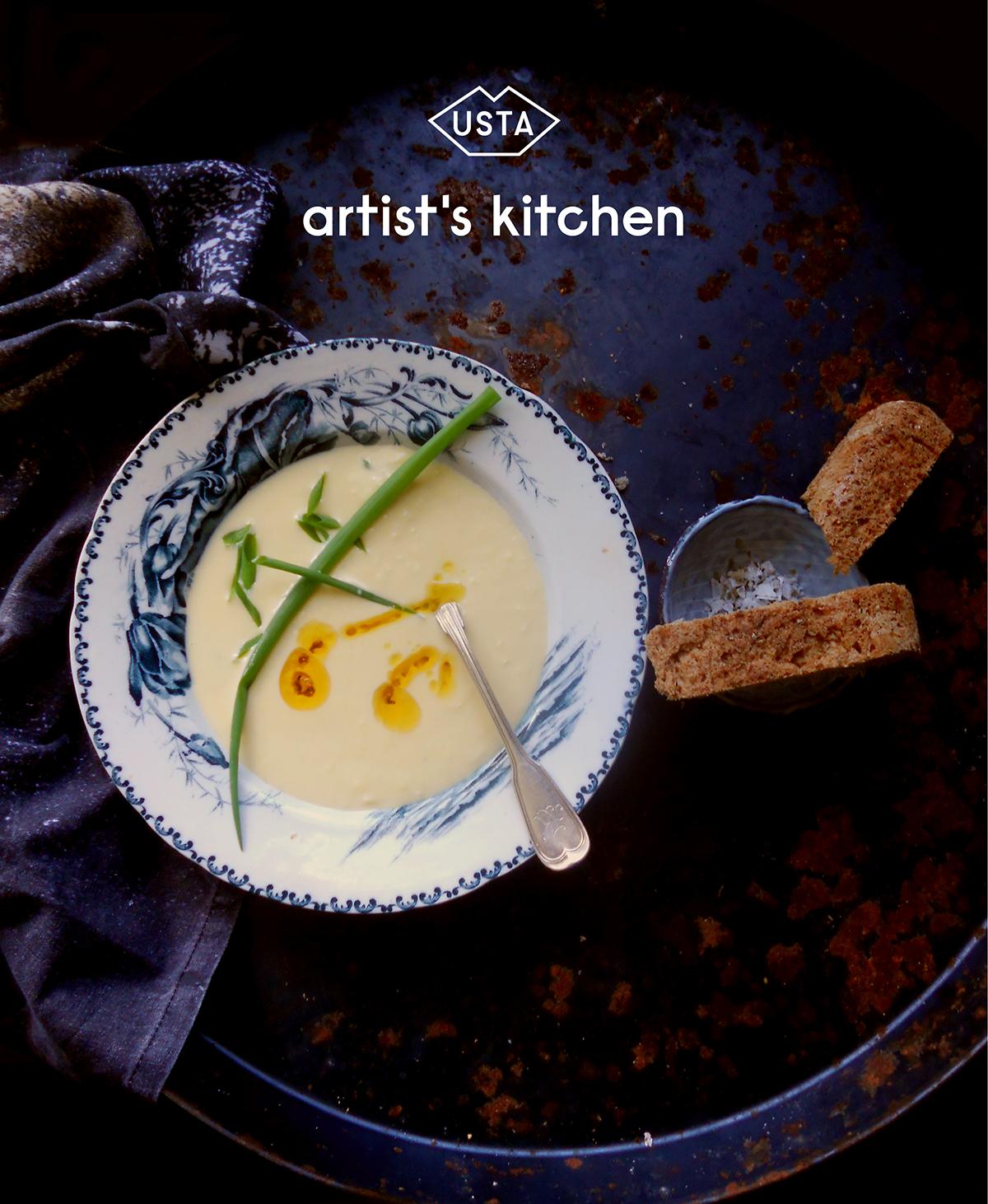 Jeść jak Georgia O'Keefee: zupa kukurydziana