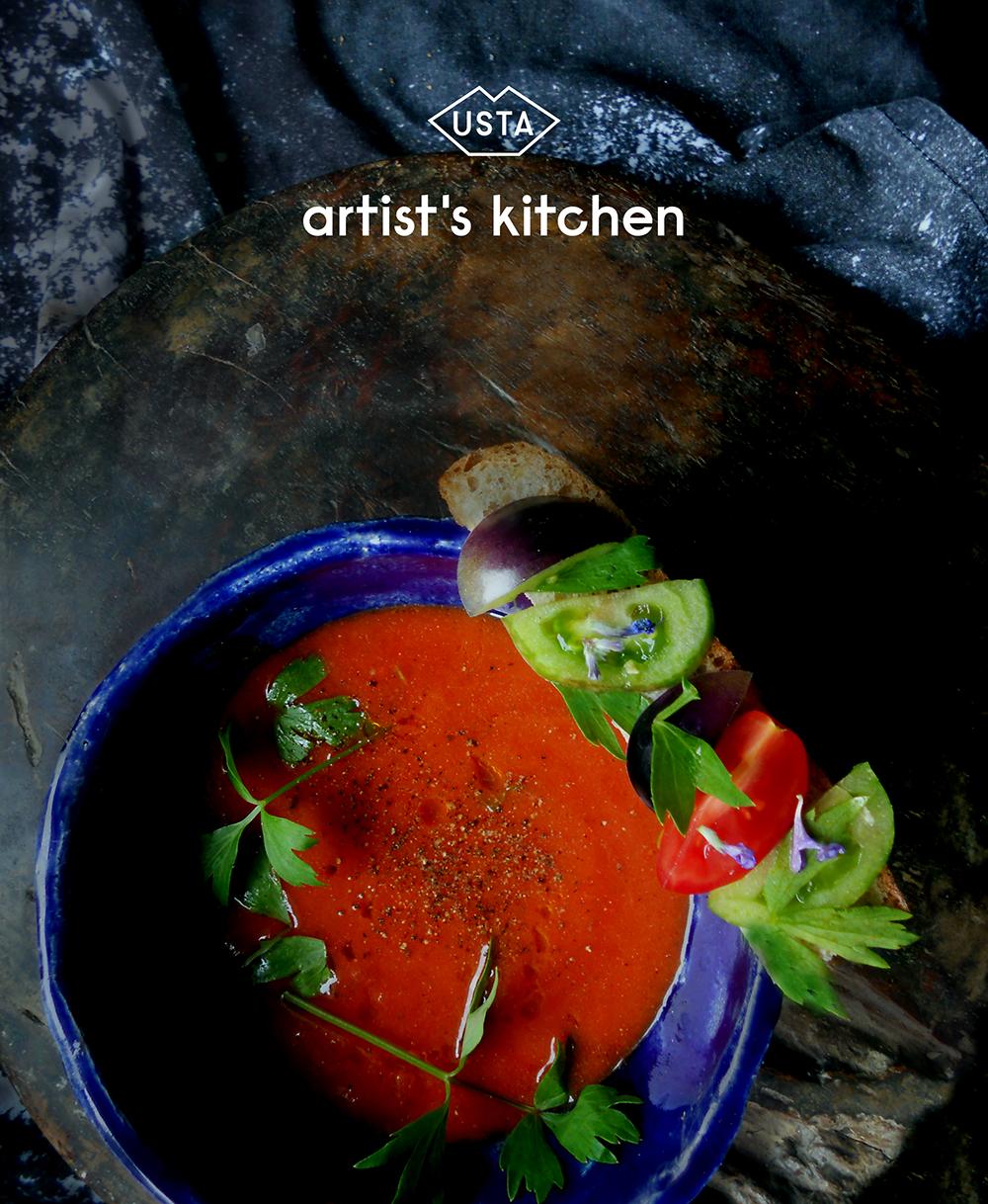 Jeść jak Georgia O'Keefee: pomidorowa z lubczykiem