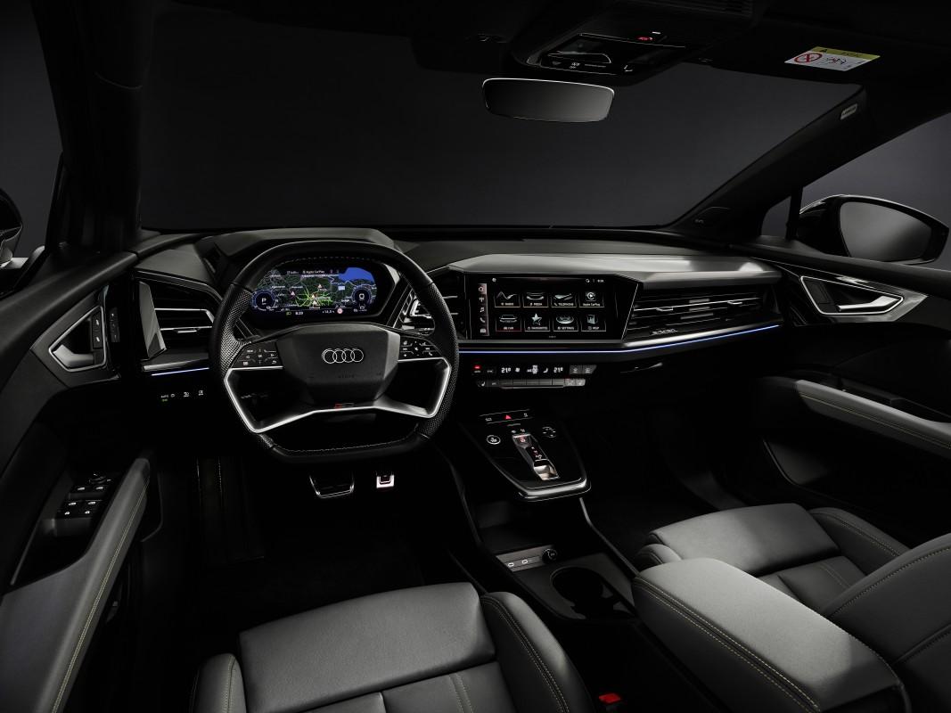 Audi Q4 e-tron samochód elektryczny