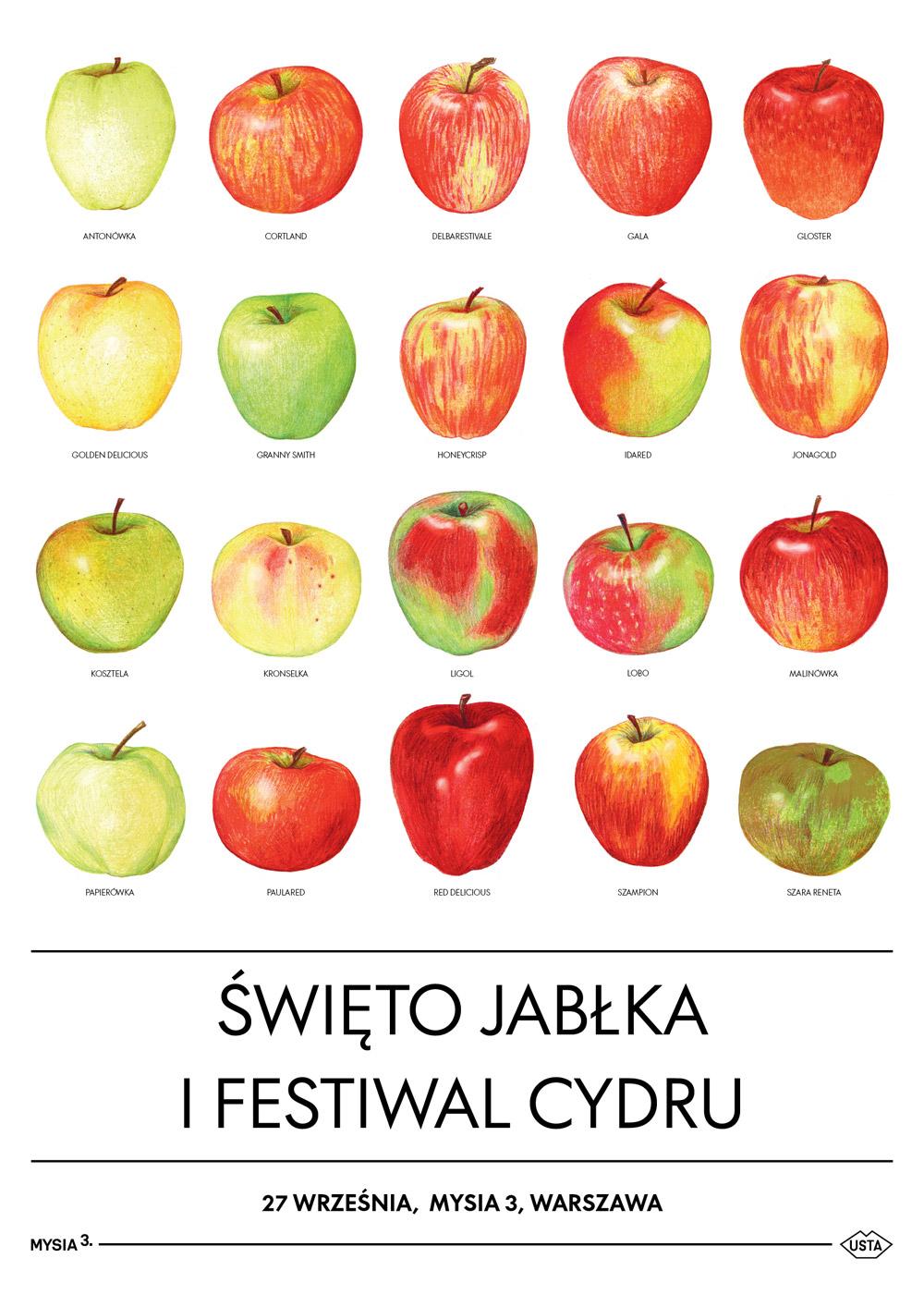 Jabłka i cydry