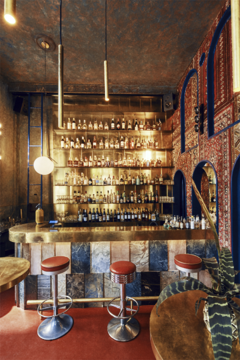The First Bourbon Bar in Warsaw