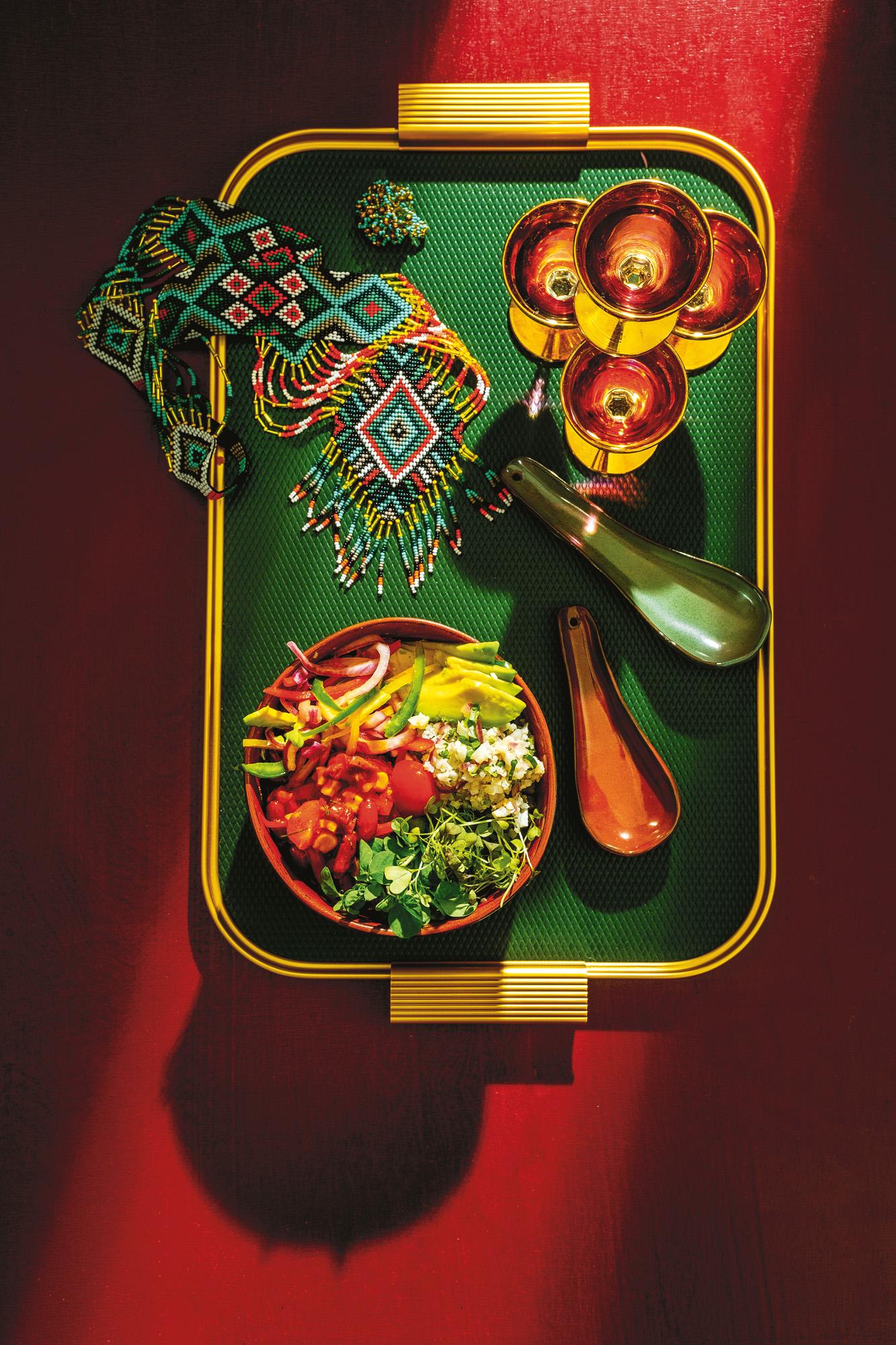 Mexico fresco! Energetyzująca zupaz ogórka i natki