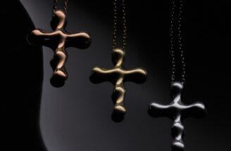 Aurum Bloom biżuteria krzyż